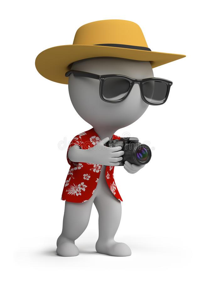 3d-piccola-gente-turista-con-una-macchina-fotografica-21693686